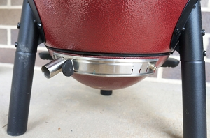 Lower Vent Adjustable Adapter for Small Kamado Grills (Except for Kamado Joe Jr.)
