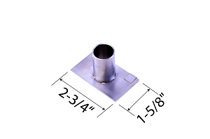 Adjustable Vent Adapter for Akorn Kamado, Kamado Joe Jr