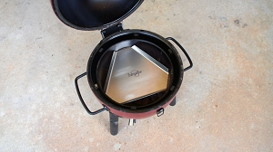 Heat Deflector / Drip Pan for Akorn Kamado Jr