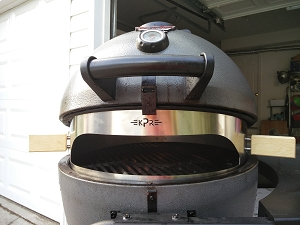 Kamado Pizza Ring for Char-Griller Akorn 22