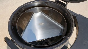 Heat Deflector / Drip Pan for Akorn Kamado