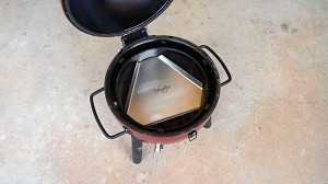 Heat Deflector / Drip Pan for Char-Griller Akorn Kamado Jr