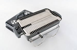 Heat Deflector / Drip Pan for Weber Go Anywhere Grill